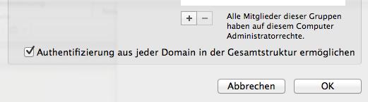 Ad domain trust