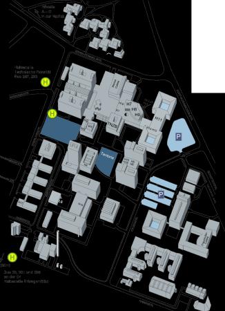 Lageplan Techfak
