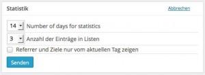 statistik-konfigurieren