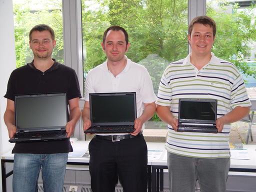 Gewinner des KONWIHR/Intel-Multicore-Wettbewerbs