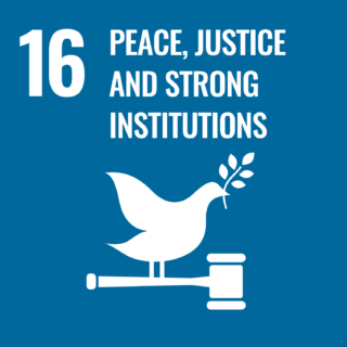 "Zum Artikel ""Goal 16 – PEACE, JUSTICE AND STRONG INSTITUTIONS"""