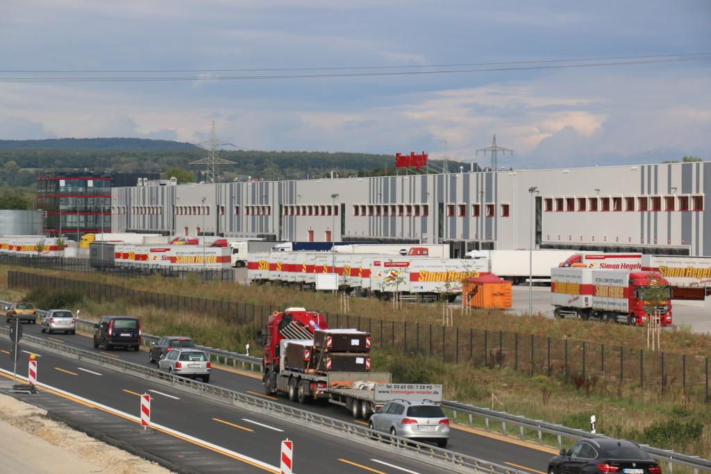 Tor zur welt der logistik standort forchheim angewandte for Gls depot berlin