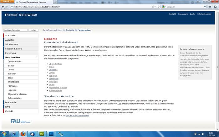 Webworking | Neue CSS-Struktur & Funktionen der Designs des ...