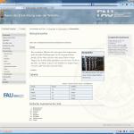 Screenshot Techfak-Design in Graublau