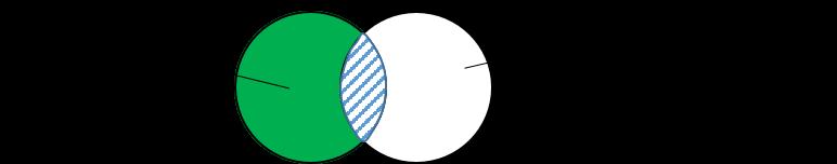 Bild 2 Venn-Diagramm: Islamische Identität und westliche Lebenswelt als Kontradiktion